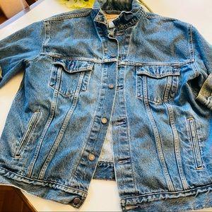 Levis denim truckers jean cotton jacket XL
